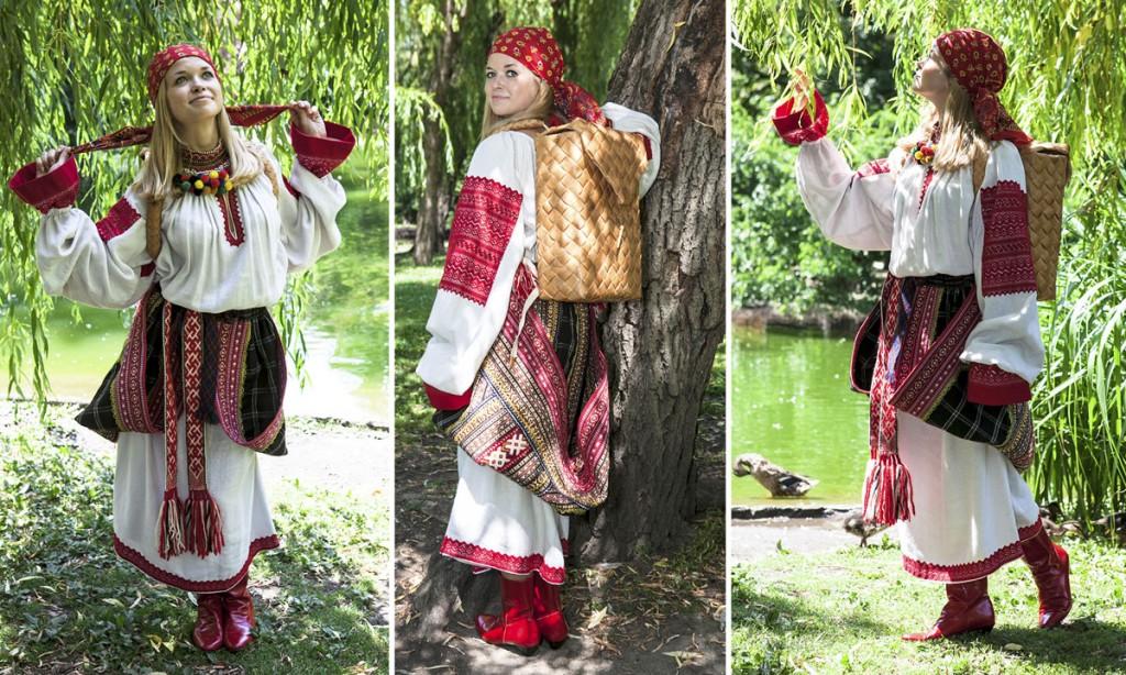 Исторический русский костюм