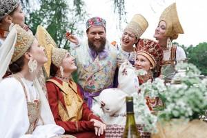 Русские костюмы Аллы Денисовой